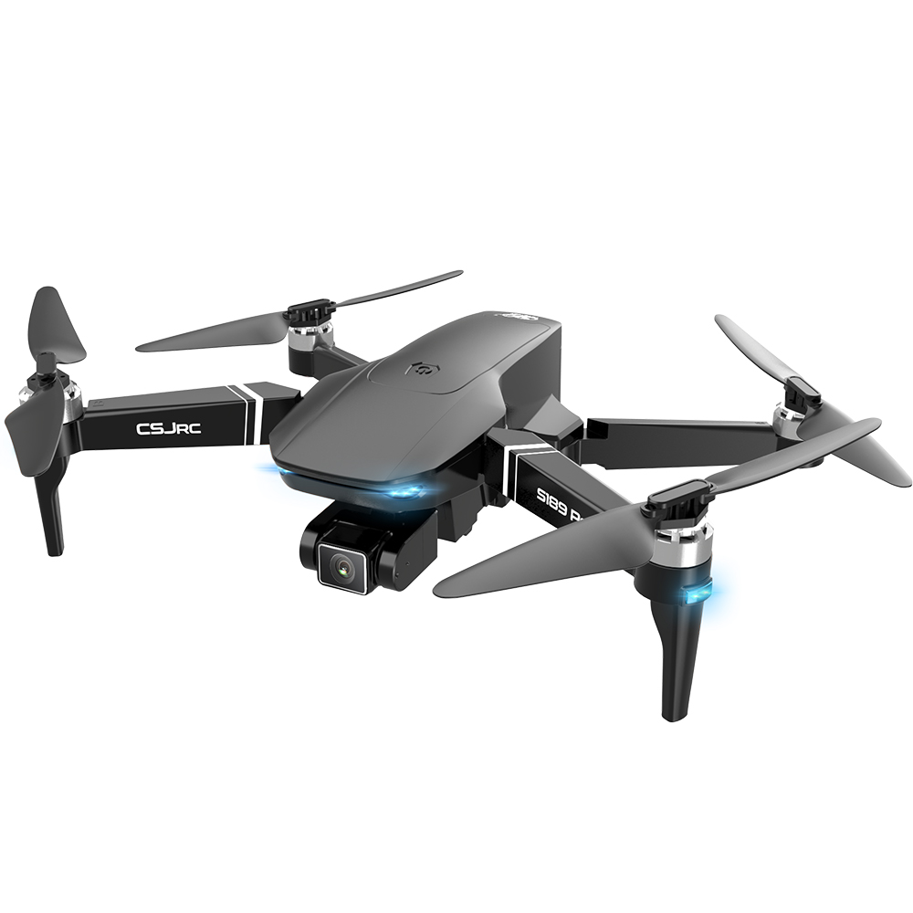 S189 Pro Rc Drone 4k Gps 5g Wifi Vision Positioning Flight 30 Minutes Rc Distance 1km Rc Quadcopter With Brushless Motor 4k pixel 5g signal aerial photography