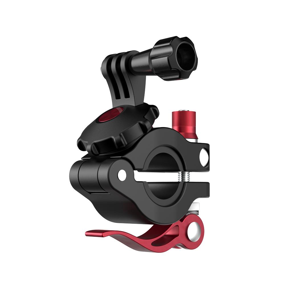 Universal Metal Bike Bicycle Holder Clip Bracket for Sports Camera black