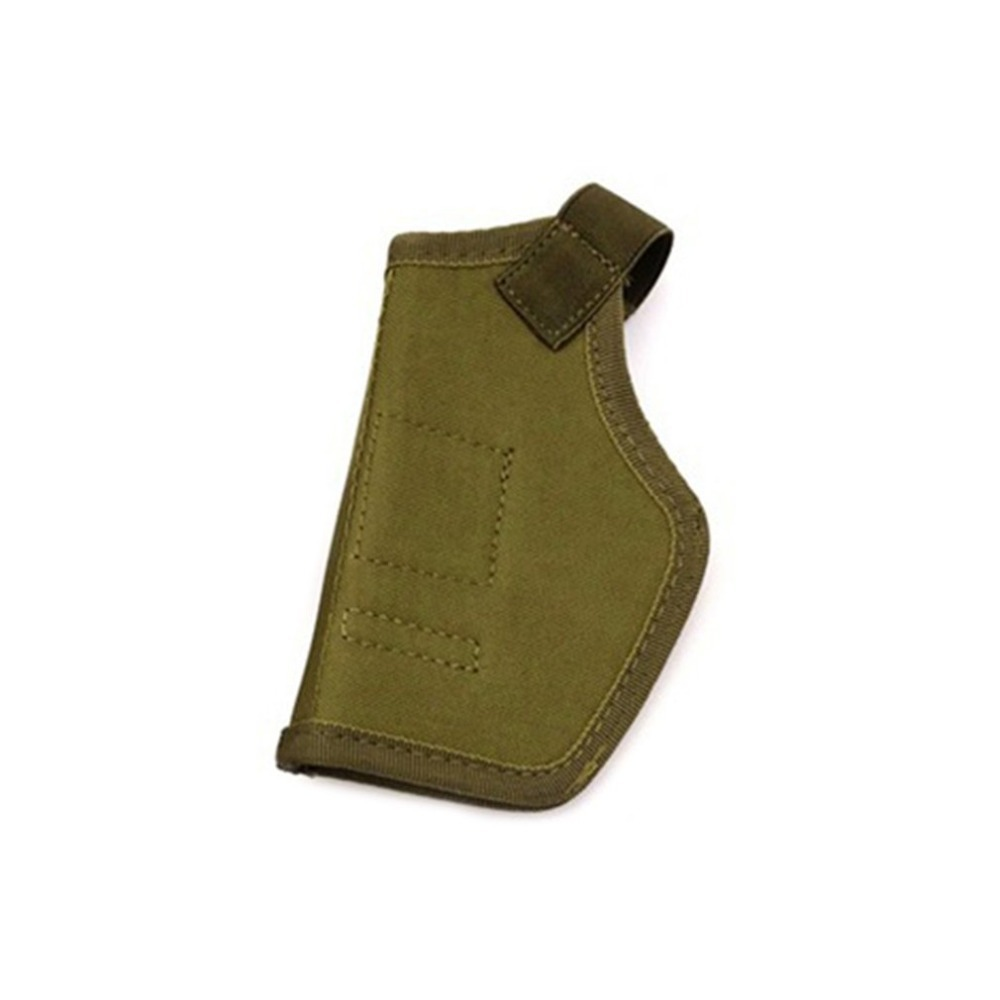 Outdoor sports equipment IWB Concealed Holster CS Invisible Waist Bag Oxford Cloth Left Right Intercom ArmyGreen_14*6.5cm
