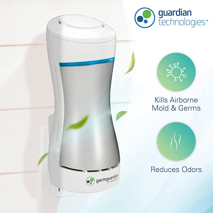 3 in 1 Air Purifier Deodorizer for Pets Odor Diapers Room Freshener U.S. plug