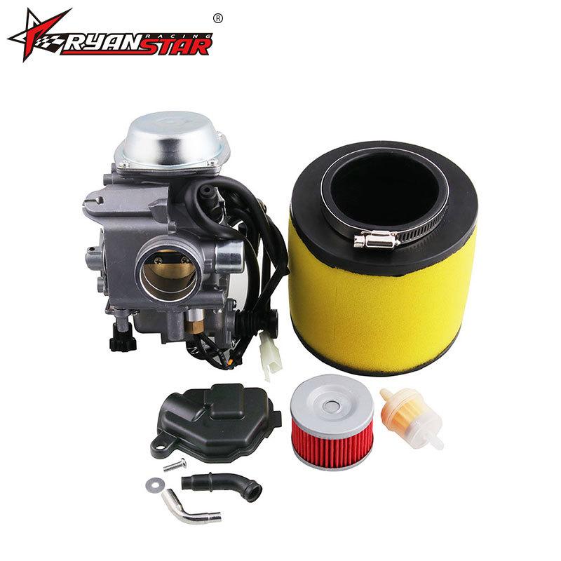 Motorcycle Trx350 Carburetor Oil Filter Air Filter Plug for Honda Rancher 350