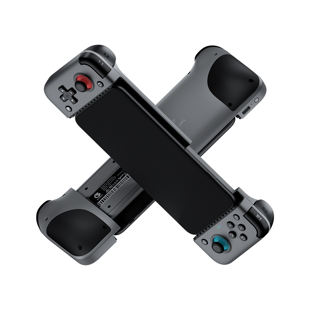 X2 Bluetooth Gamepad Joystick Game Console Controller Suitable For Cloud Game Platform Xcloud Stadium gray