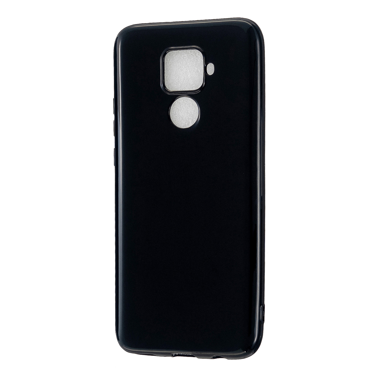 For HUAWEI Mate 30/30 Lite/30 Pro Cellphone Case Simple Profile Soft TPU Shock-Absorption Phone Cover Bright black
