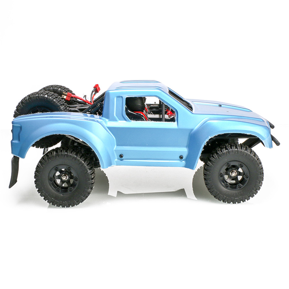 Feiyue FY08 1/12 2.4G 4WD Brushless RC Car Proportional Control Max 3000mAh Battery Desert Off-road Truck RTR Toy Blue 1500mAh