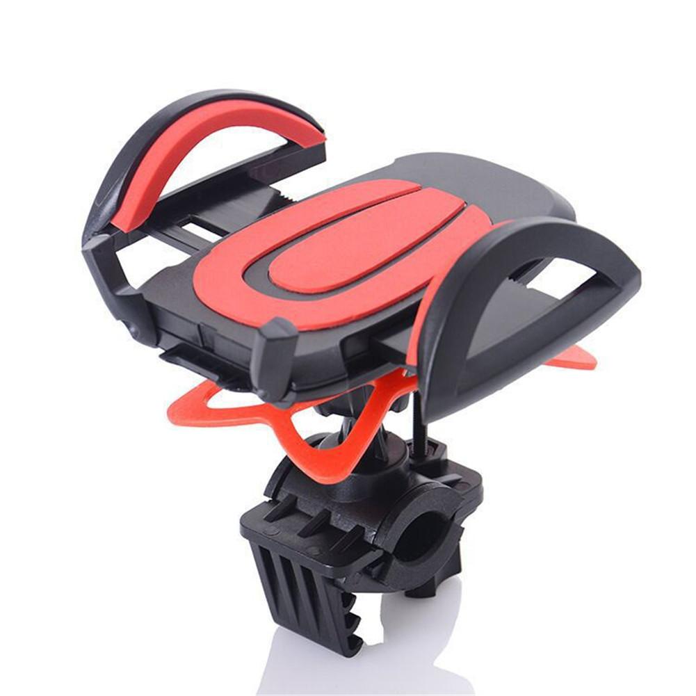 Mountain Bike Phone  Holder Electric Vehicle Motorcycle Navigation Phone Mount Black red