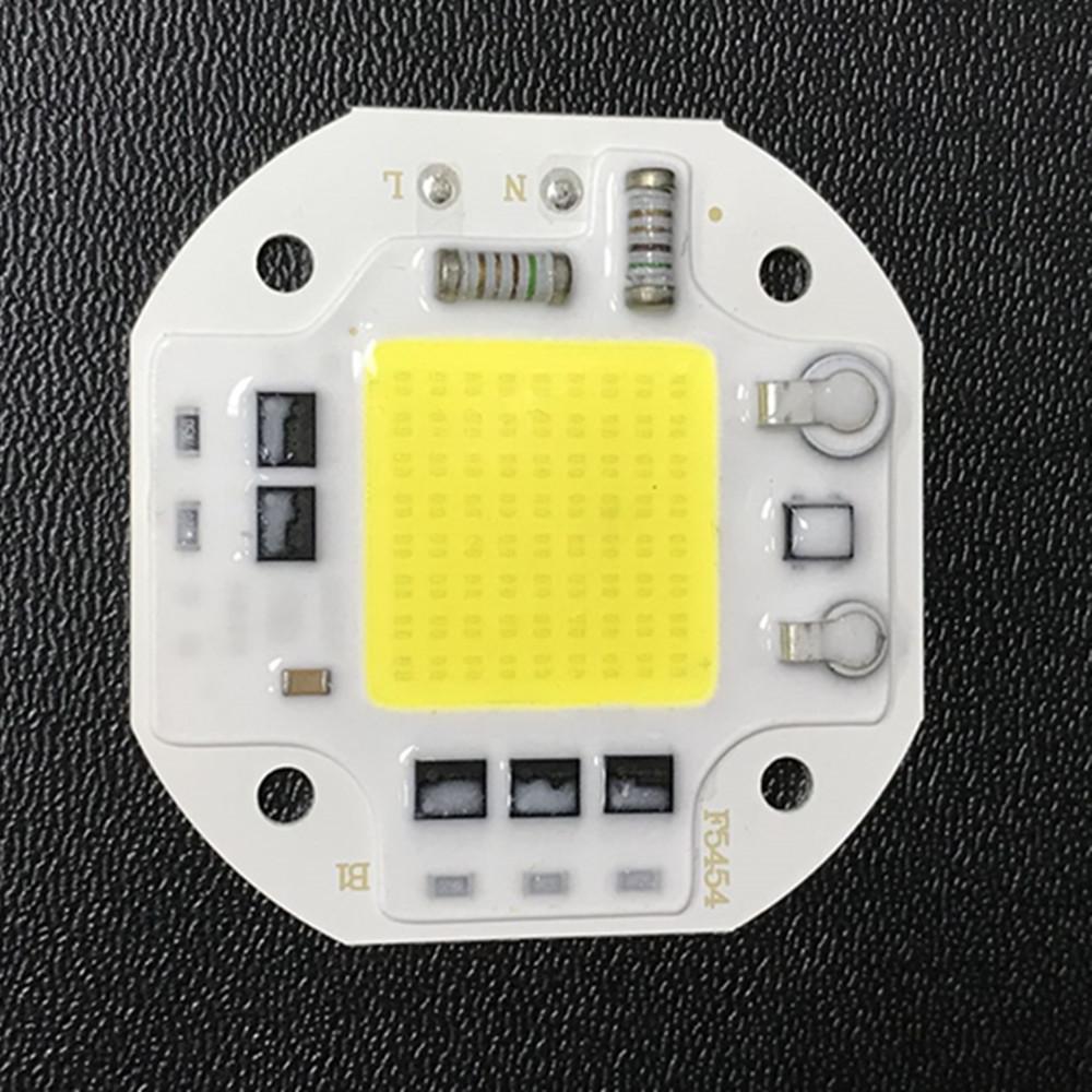 50W 220V LED Free Drive COB Light Source for Lighting White light