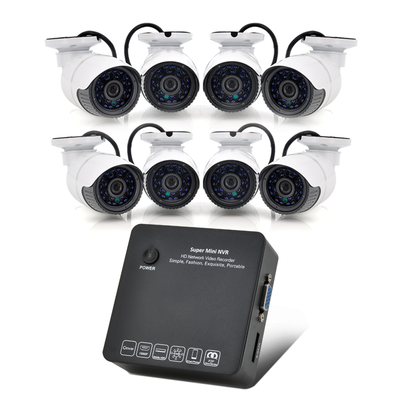 8 Channel HD Network Video Recorder System