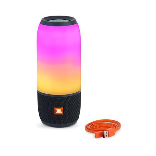 JBL Pulse3 Bluetooth Speaker Colorful Wireless Portable Waterproof Sound Stereo Mini Desk Bass  black