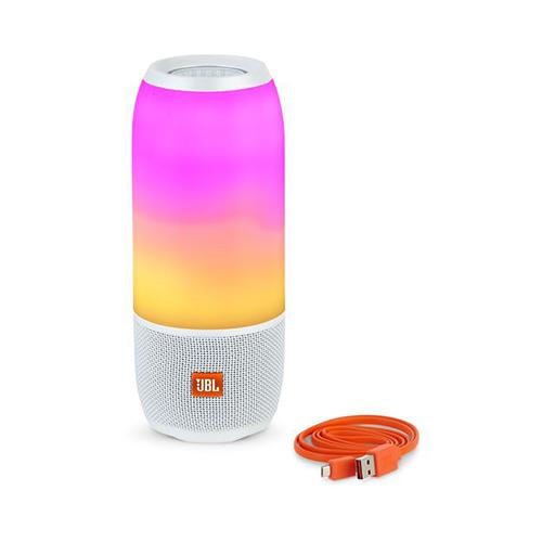 JBL Pulse3 Bluetooth Speaker Colorful Wireless Portable Waterproof Sound Stereo Mini Desk Bass  white