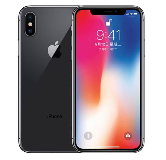 Refurbished Apple iPhone X Black 64GB US-Plug