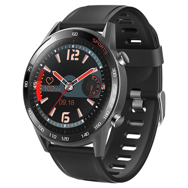 T23 Smart Bracelet Body Temperature Detection HD Large Screen Sports Smart Bracelet black