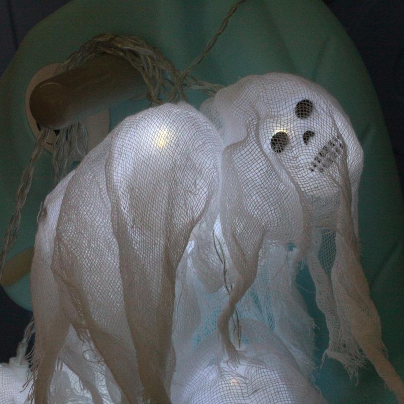 2.5m Halloween LED String Light Skull Skeleton Ghost Party Decoration Battery Powered
