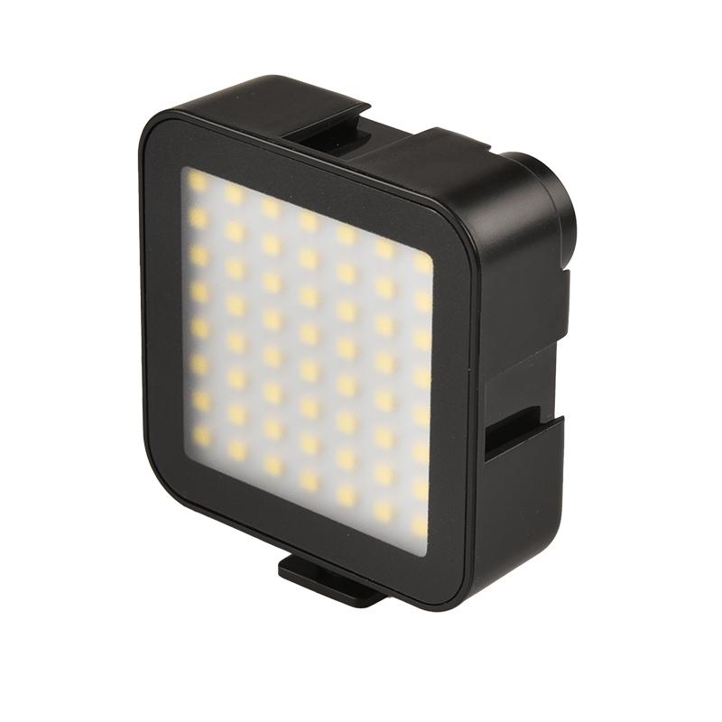 56 LED Video Light fill-in light Rechargeable Battery Mini portable rechargeable light fill-in light black