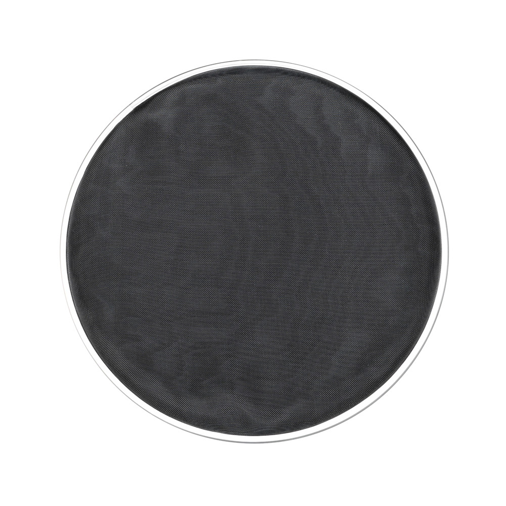 10inch DT-39 Mute Drum Skin Nylon Mesh Steel Drum Head Silent Drumhead black