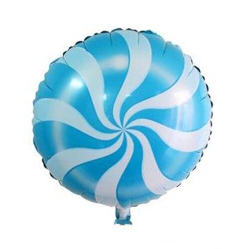 5pcs/lot 18inch Foil balloons Birthday party wedding decoration (dark orange/red/green/blue/pink windmill)45*45cm