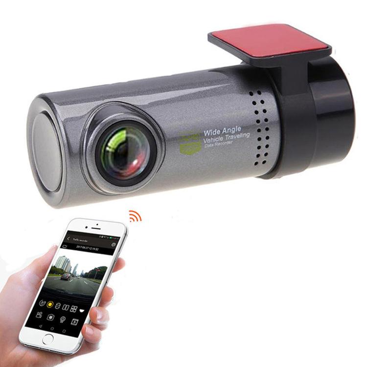 1080P Car Wireless WiFi Hidden Car DVR Camera Dash Cam Video Recorder G-Sensor Silver