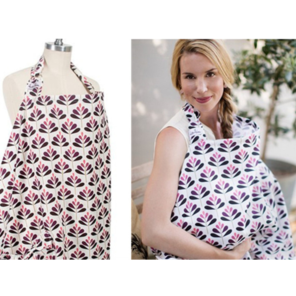 Cotton Ultra-thin Gauze Breastfeeding Cover Towel Shawl  A