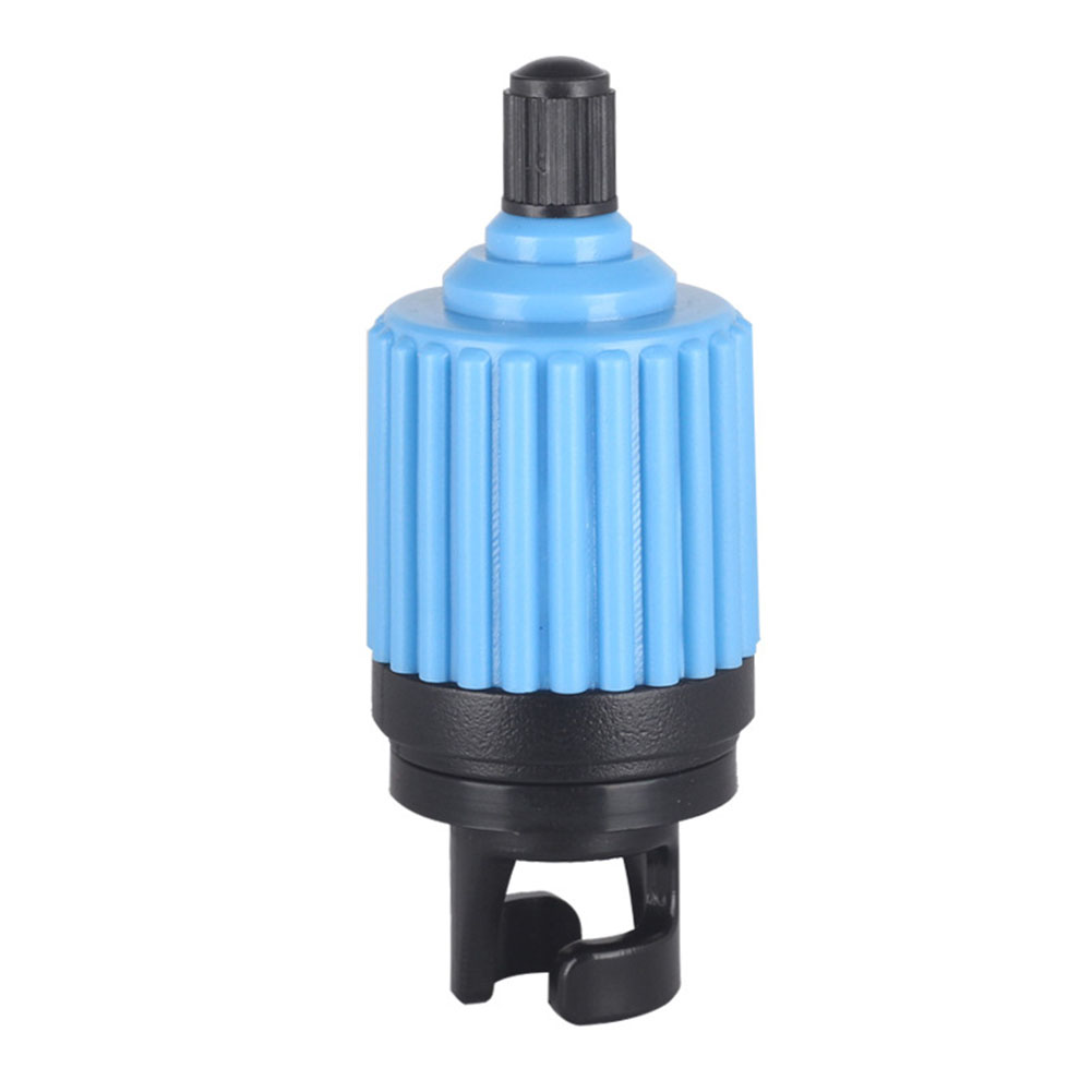 Inflatable Boat Air Valve Adapter Kayak Accessory Inflating Fast By Car Tire Inflation Pump blue