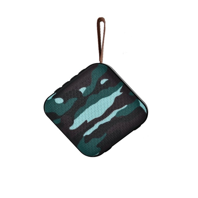 Portable Bluetooth Speaker Mini Wireless Loudspeaker Sound System 10W Stereo Music Surround Outdoor Speaker Support FM TF Card Camouflage
