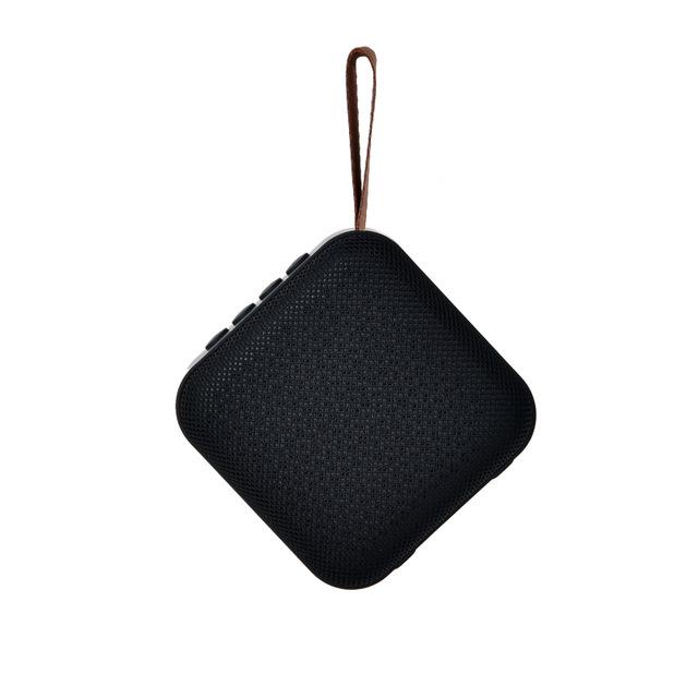 Portable Bluetooth Speaker Mini Wireless Loudspeaker Sound System 10W Stereo Music Surround Outdoor Speaker Support FM TF Card black