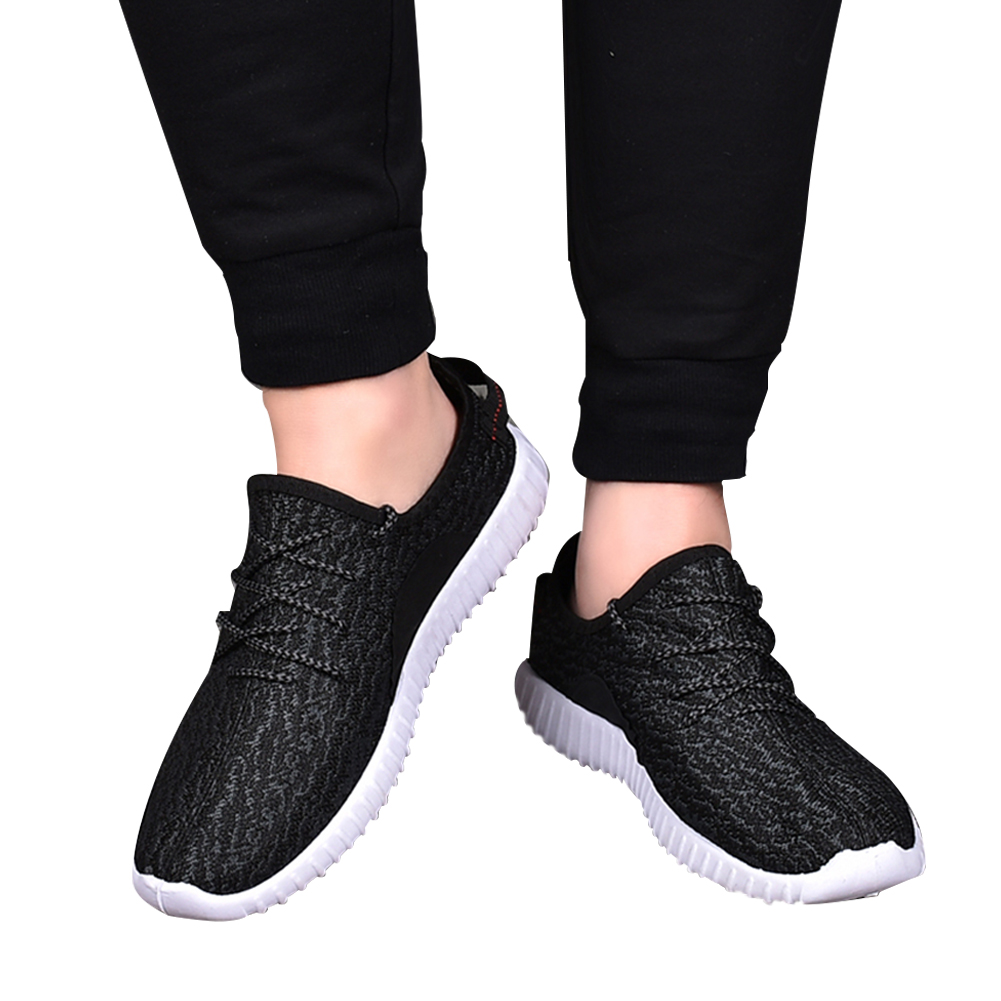 Men Fashion Casual Breathable Nonslip Bandage Sports Shoes