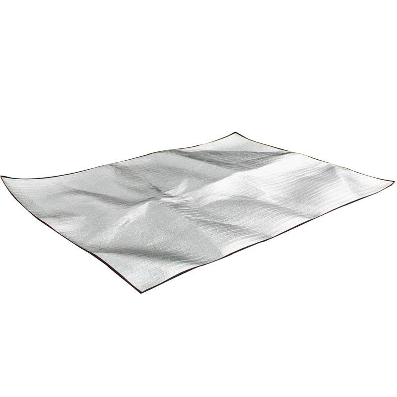 Outdoor Camping Mat Tent Ultralight Aluminum Foil Foam Dampproof Waterproof Picnic Mats Blanket 2m*1.5m*0.25 double-sided aluminum foil