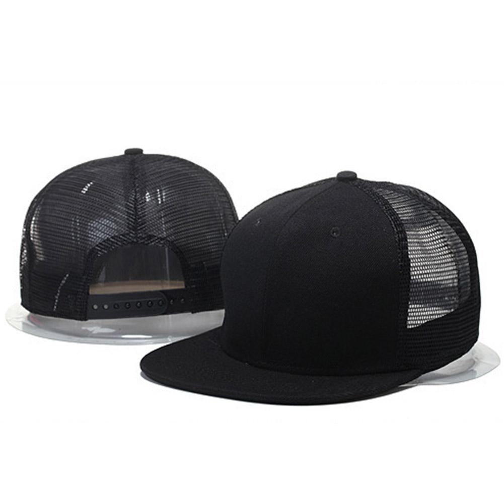 Women Men Fashion Simple Mesh Splicing Adjustable Baseball Cap  9_adjustable