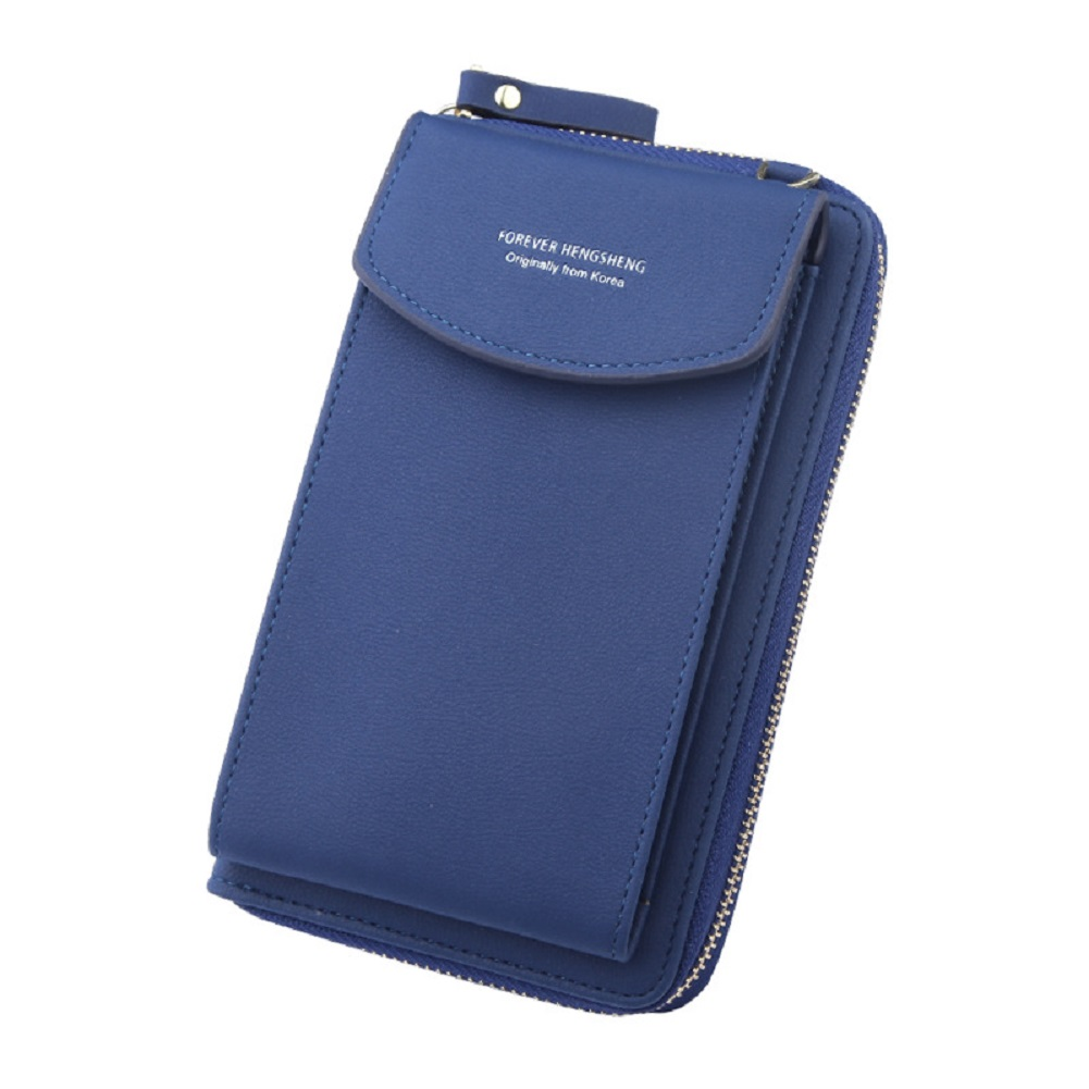 Women Cell Phone Purse Card Holders Zipper Handbag Messenger Shoulder Straps Bag