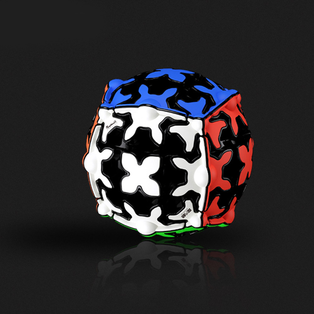 Qiyi Magic Cube Gear Cube 3x3 Gear Ball Shaped Smooth Cube Professional Game Toys Spherical gear