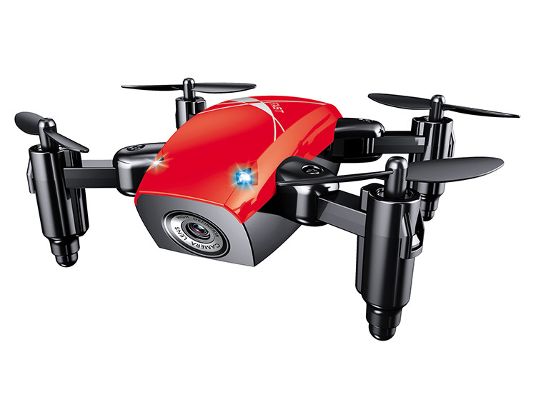 S9 Mini Folding UAV 4-Axis Aircraft Red
