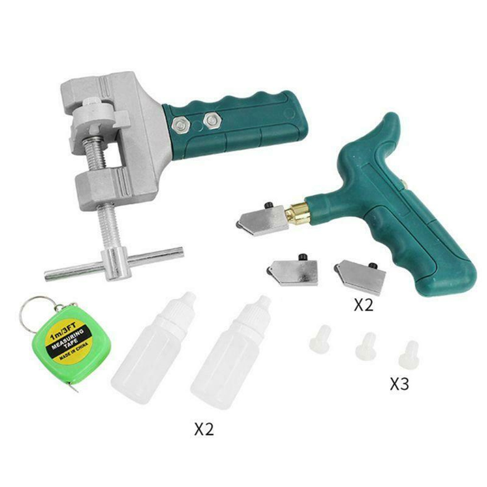 Multi-functional Glass Tile  Cutter Portable Bottle Opener Manual Cutting Tool 11 piece set