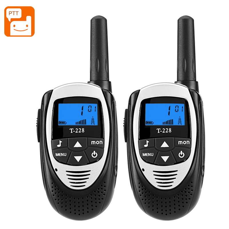T-228 Walkie Talkies (Black)