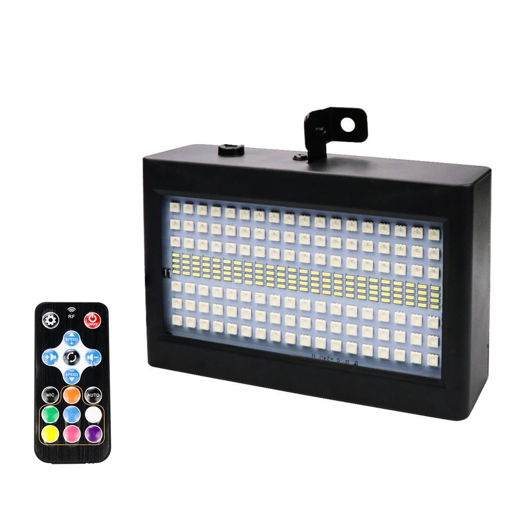 204 LED Flash Light Sound Control Portable Sound Control Light for Festival Stage Disco Bar Party Club show U.S. regulations