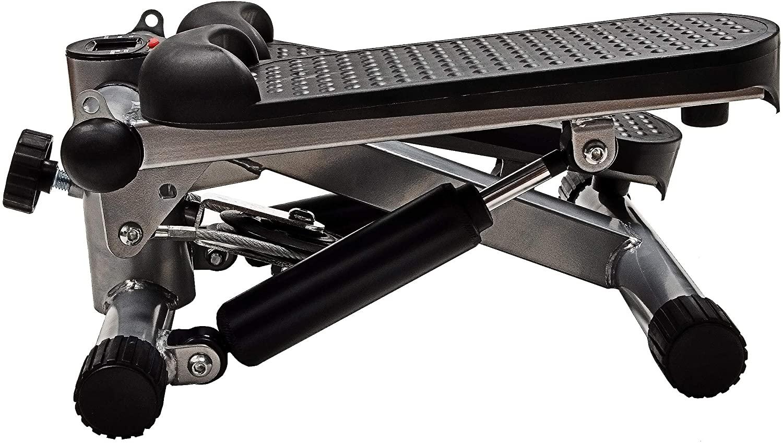 [US Direct] Original BalanceFrom Adjustable Workout Aerobic Stepper Step Platform Trainer Black
