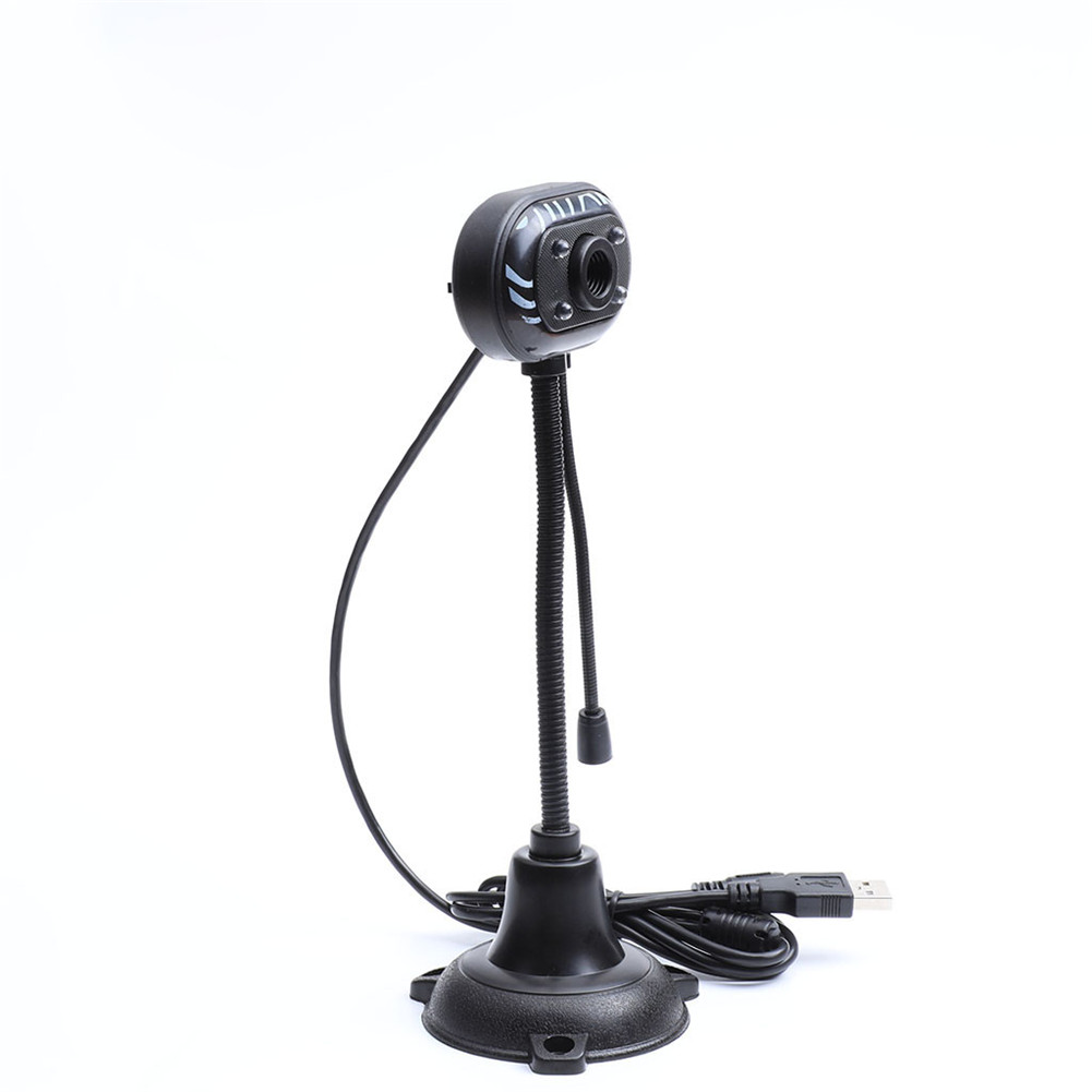 Web Camera Computer HD Camera With Microphone USB Drive-free Desktop Notebook Camera black
