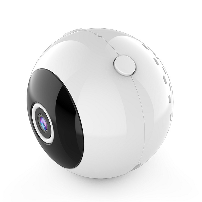 WIFI Camera W8 High Definition DV Home Security Night Vision Camera Built in Battery white