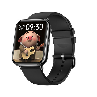 X27 Smart  Watch With 1.7-inch Color Large Screen Various Exquisite Dials 24h Dynamic Heart Rate Ip68 black