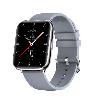 X27 Smart  Watch With 1.7-inch Color Large Screen Various Exquisite Dials 24h Dynamic Heart Rate Ip68 Silver