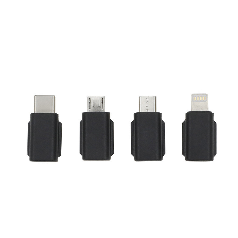 Osmo Pocket Smartphone Adapter (8-pin/Type-C/Android) Four in one (Type-c/Apple/Android Forward/Android Reverse)