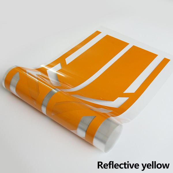Style Side Stripes Decal Stickers for Mercedes Benz W176 A Class A45 AMG  yellow