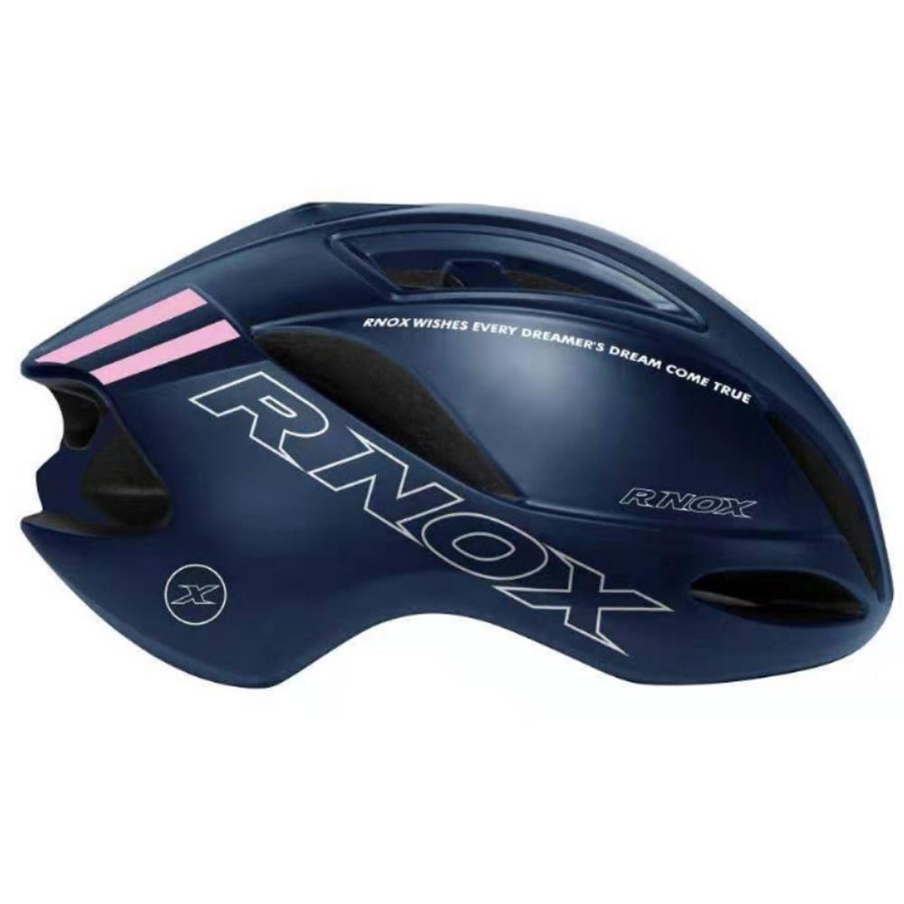 Cycling Helmet SPEED Pneumatic Racing Road Bike Helmets for Men women TT Time trial triathlon Bicycle Helmet  Dark blue_One size
