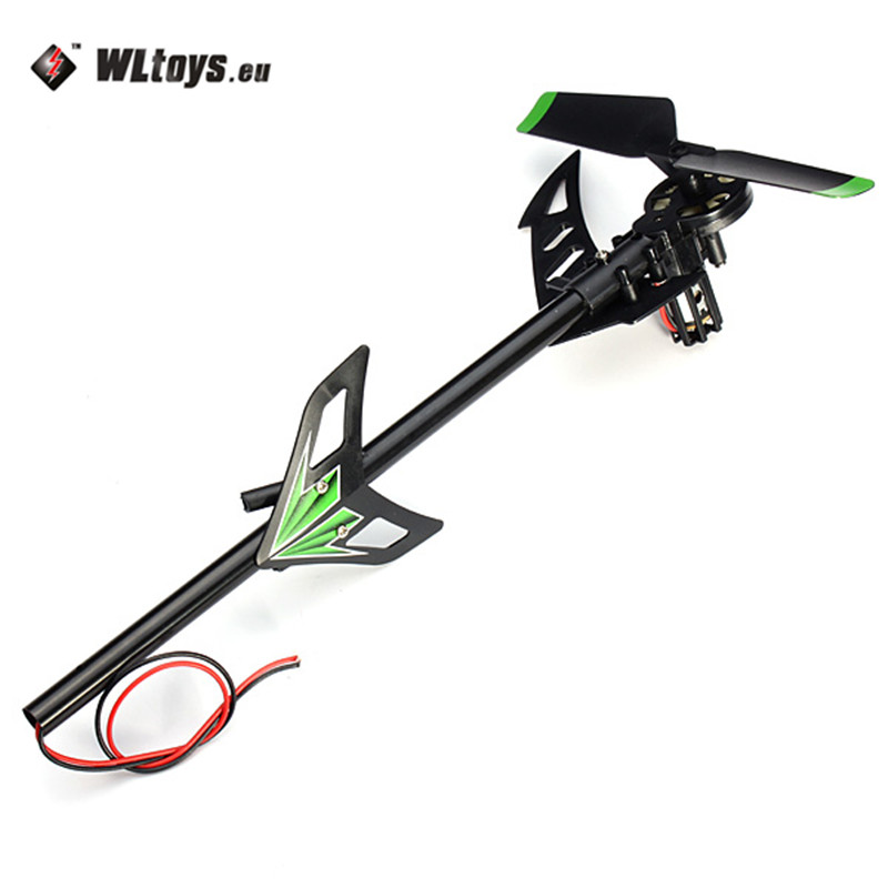 WLtoys V912 Brush RC Helicopter Spare Parts Tail Motor Set as shown