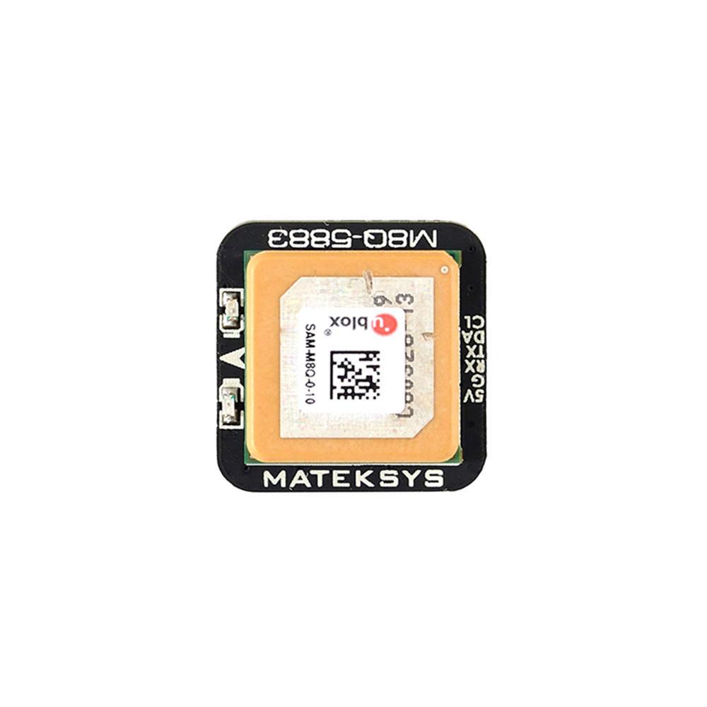 Matek Systems M8Q-5883 Ublox SAM-M8Q GPS & QMC5883L Compass Module for RC Drone FPV Racing