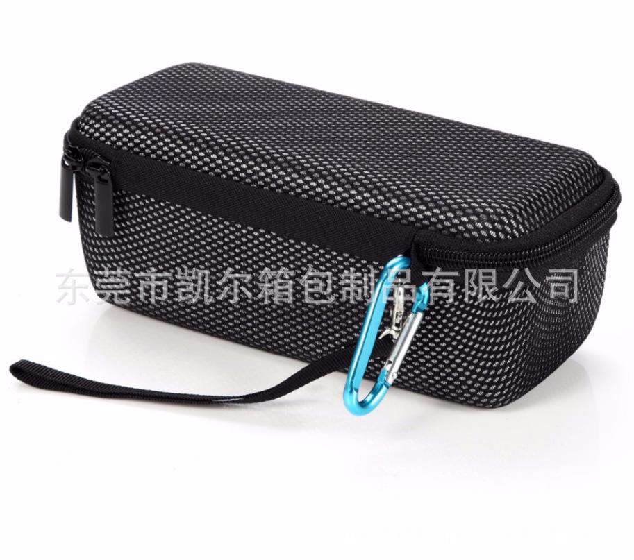 Speaker Protective Case For Bose Soundlink Mini JBL Flip Storage Pouch Bag Hard Carrying Case for Outdoor Travel Black