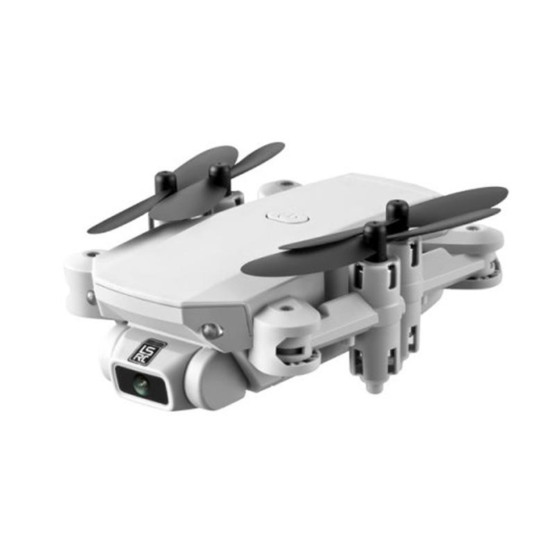 2020 New Mini Drone 4K 1080P HD Camera WiFi Fpv Air Pressure Altitude Hold Black And Gray Foldable Quadcopter RC Drone Toy Gray 480P