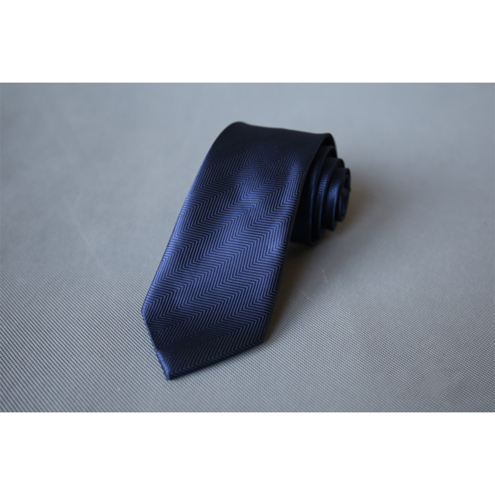 Men's Wedding Polyester Tie 7cm Necktie for Wedding Party Business  QLD-010