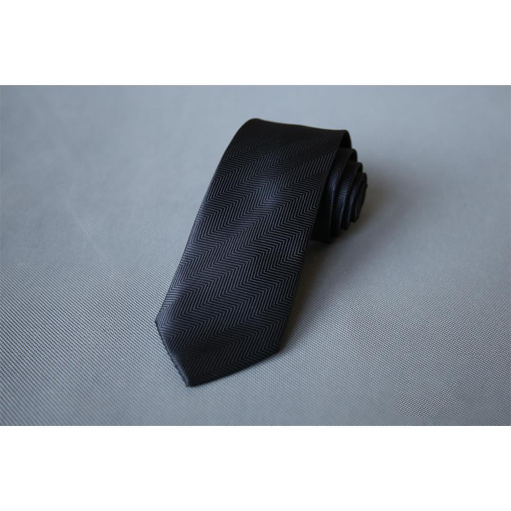 Men's Wedding Polyester Tie 7cm Necktie for Wedding Party Business  QLD-011
