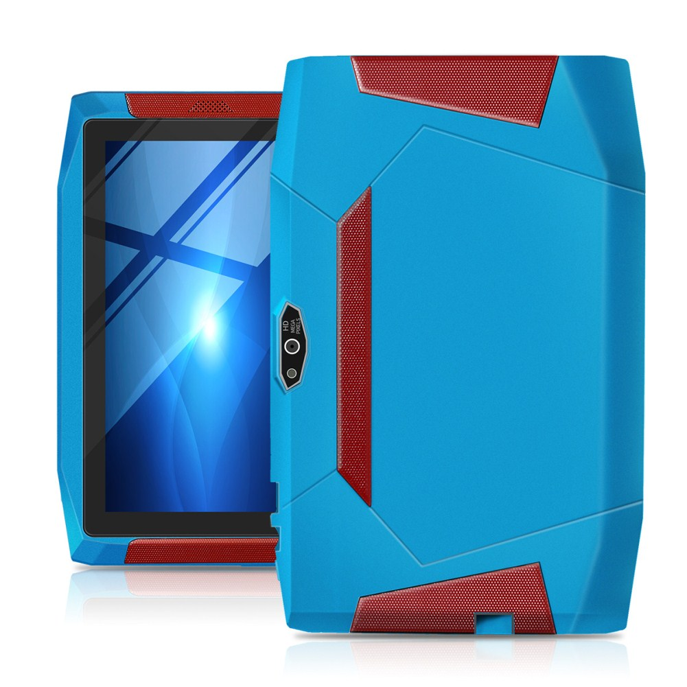 A33 Tablet 7inch Screen 3000mA Battery WiFi Bluetooth 4-Core Learning Gift Children PC Blue