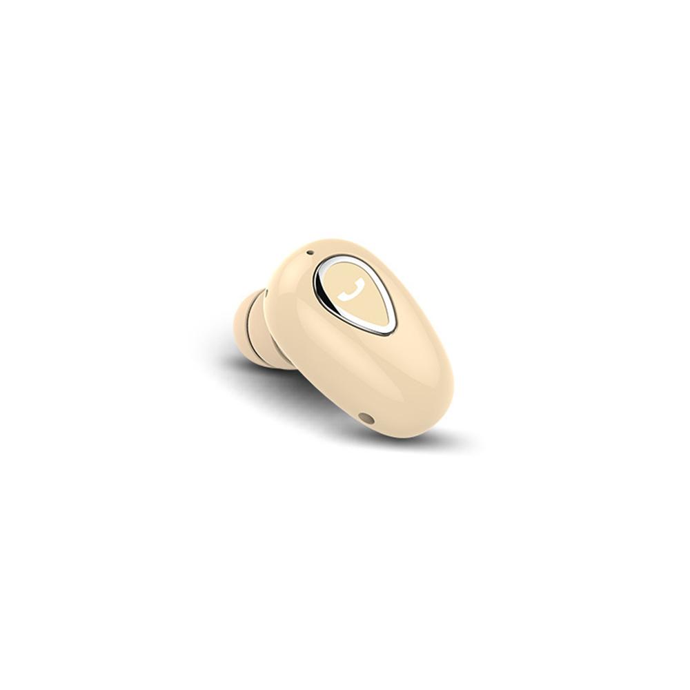 Wireless Bluetooth Headsets Mini Sports Bluetooth In-ear Earphones Luxury golden