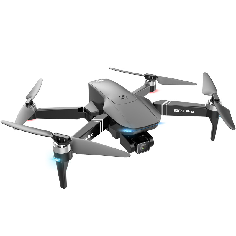 S189 Pro Rc Drone 4k Gps 5g Wifi Vision Positioning Flight 30 Minutes Rc Distance 1km Rc Quadcopter With Brushless Motor 6k pixels 5g signal aerial photography